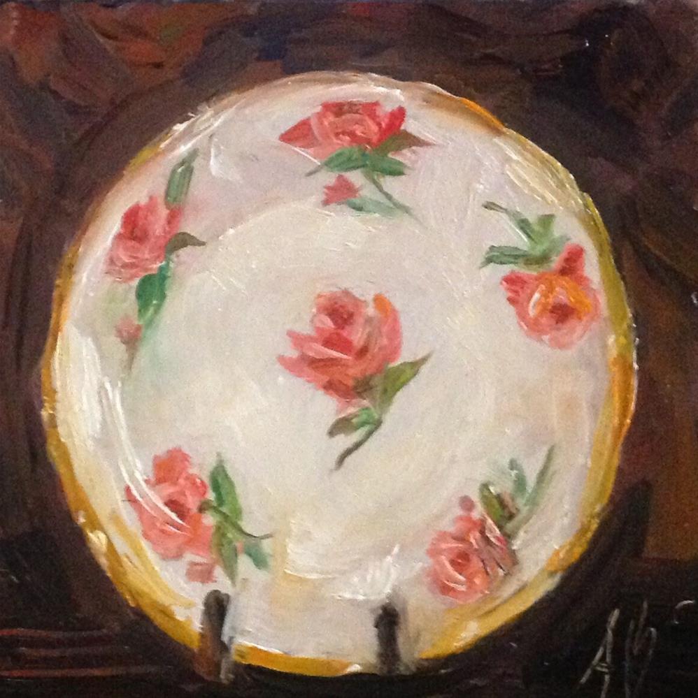 """Vintage keepsake display"" original fine art by Annette Balesteri"