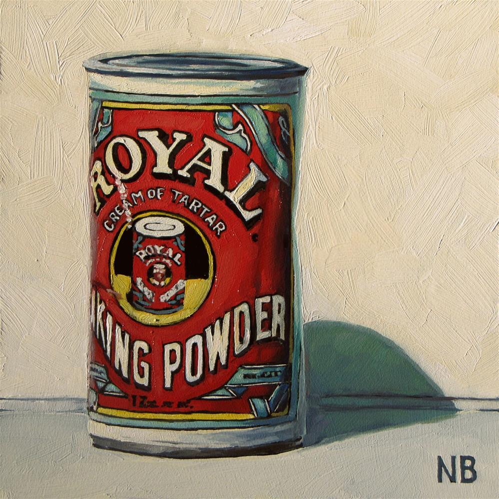 """Royal Baking Powder"" original fine art by Nora Bergman"