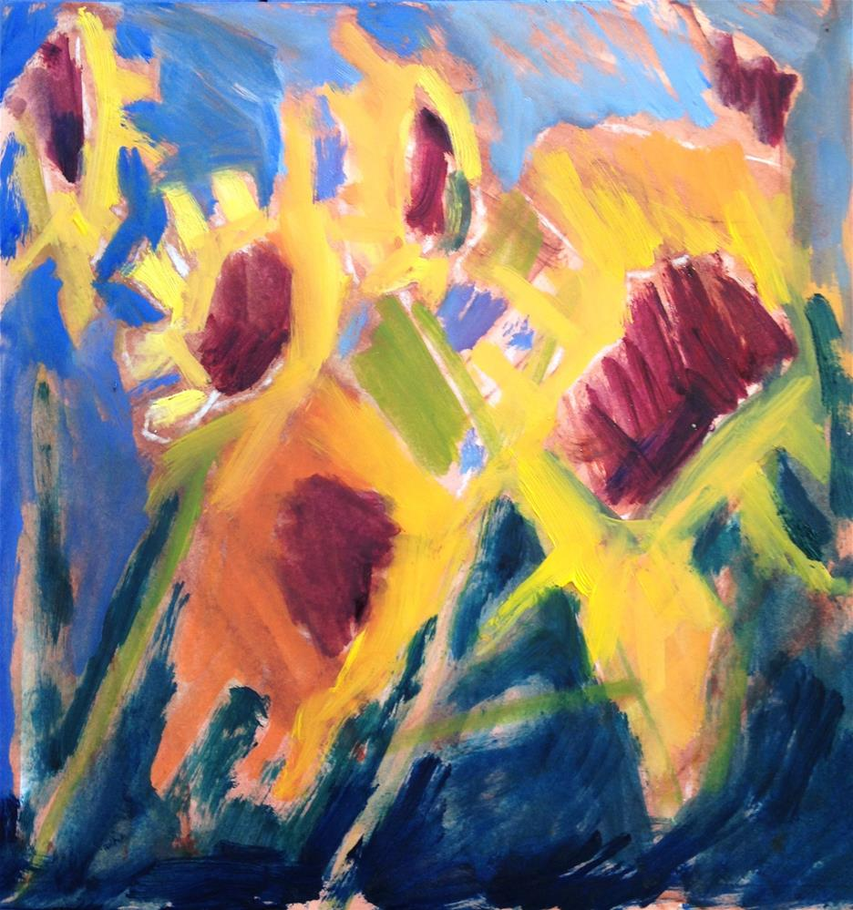 """""""Mary Oliver"""" original fine art by Pamela Hoffmeister"""