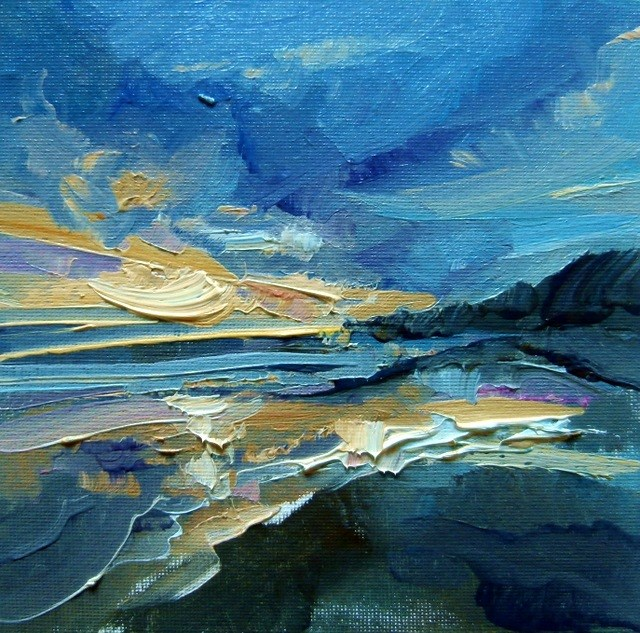"""Ebb and Flow"" original fine art by Anne Wood"