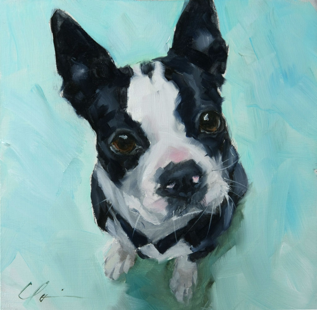 """Really?"" original fine art by Clair Hartmann"