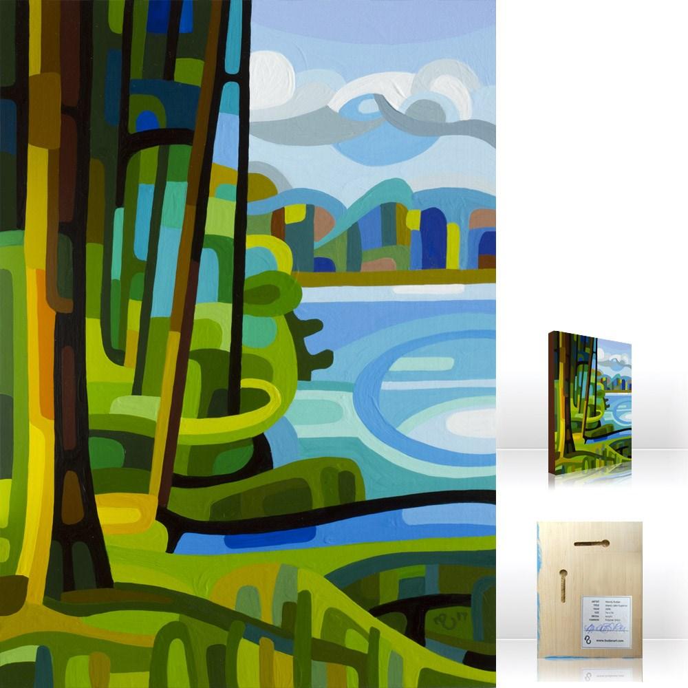 """Landscape Study #113"" original fine art by Mandy Budan"
