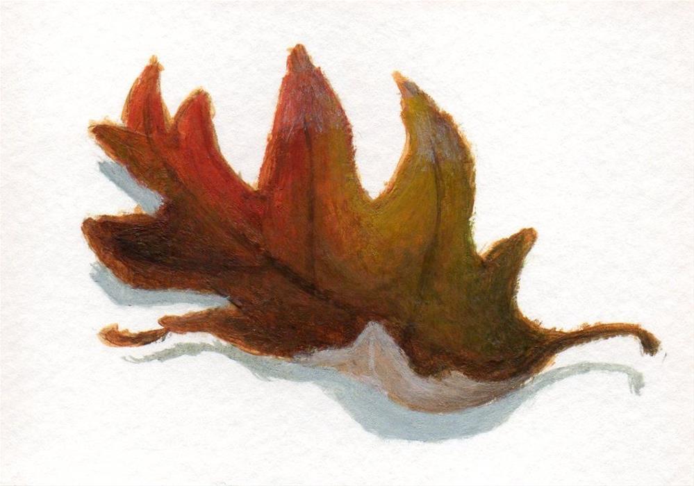 """""""Fallen  Leaves 4"""" original fine art by Debbie Shirley"""