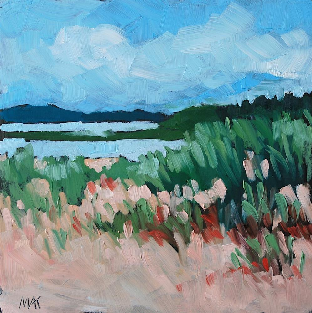 """Summer in PEI"" original fine art by Mary Anne Cary"