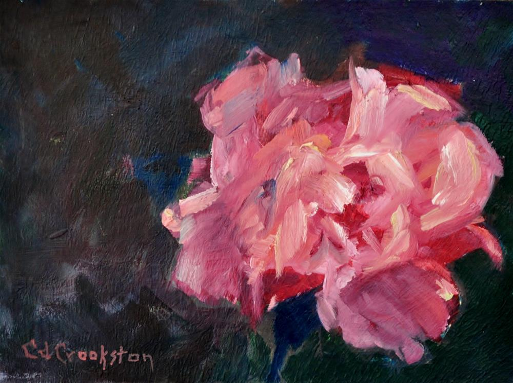 """The Forever Rose"" original fine art by Catherine Crookston"