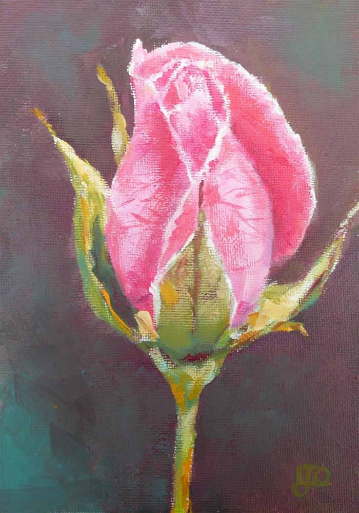 """Elegance"" original fine art by Leanne Owen"