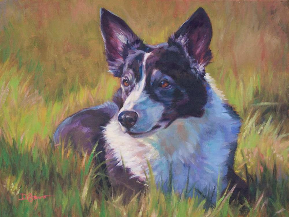 """Bree"" original fine art by Deborah Savo"