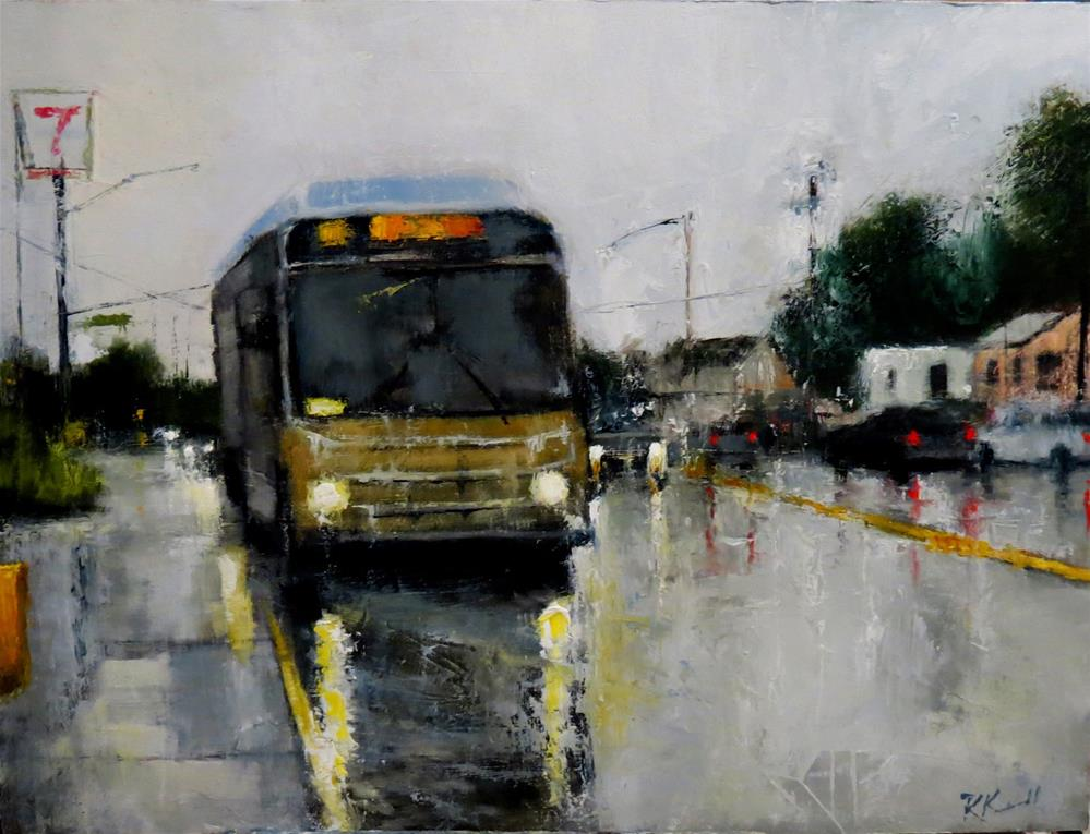 """The 101 Southbound"" original fine art by Bob Kimball"