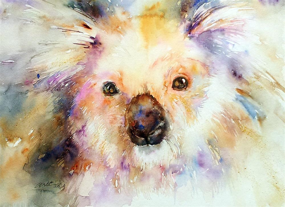 """""""Koala Bear"""" original fine art by Arti Chauhan"""