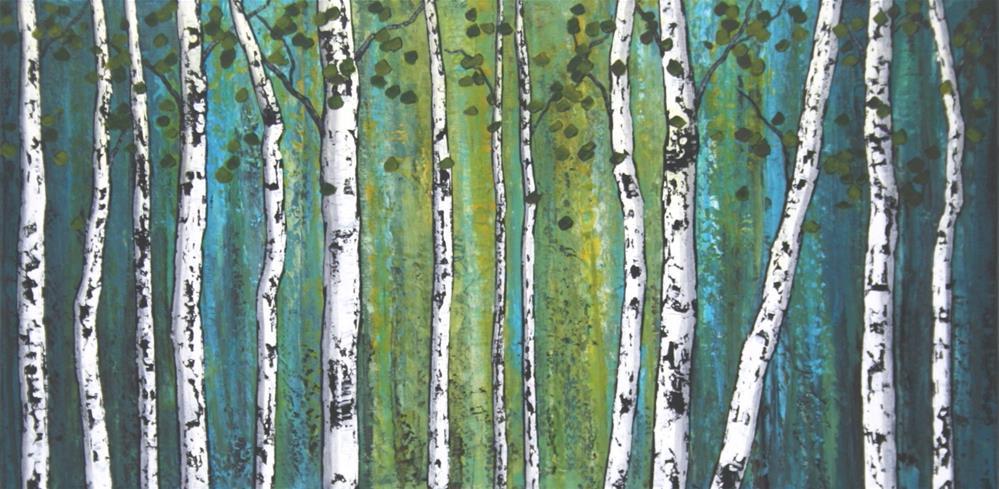 """Ghost Wood X"" original fine art by Sage Mountain"