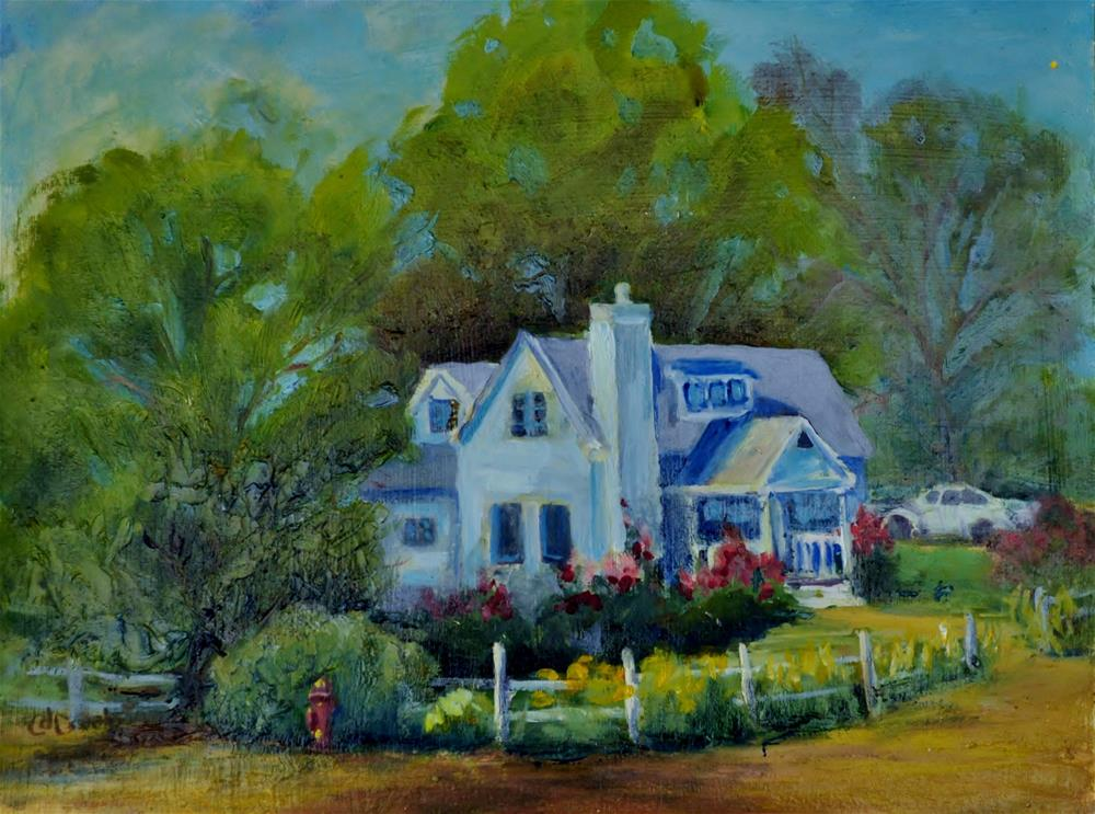 """Paradise"" original fine art by Catherine Crookston"