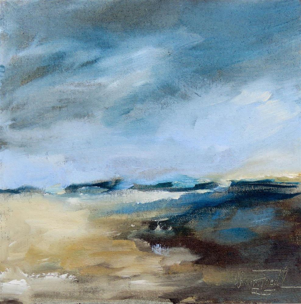 """Storm is approaching"" original fine art by Christa Friedl"