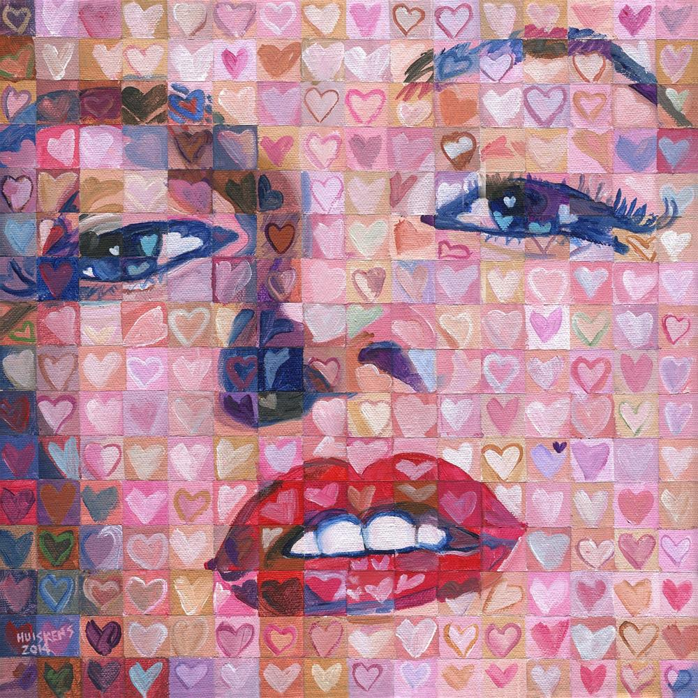 """I ♥ Marilyn"" original fine art by Randal Huiskens"