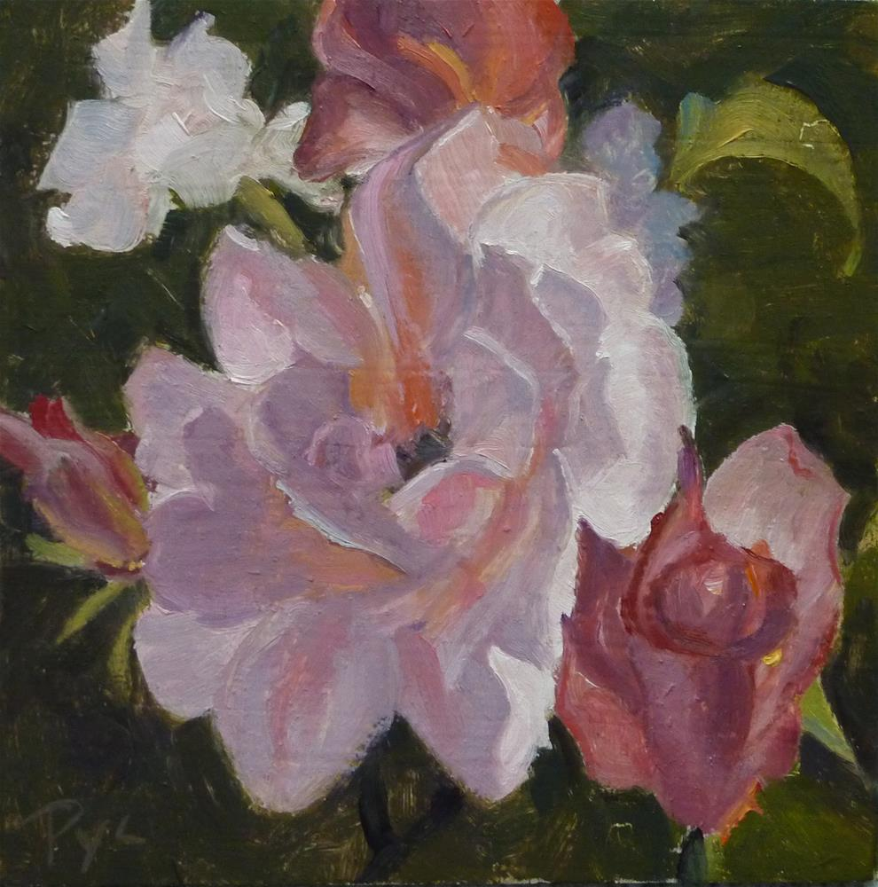 """Rose Garden"" original fine art by Mary Pyche"