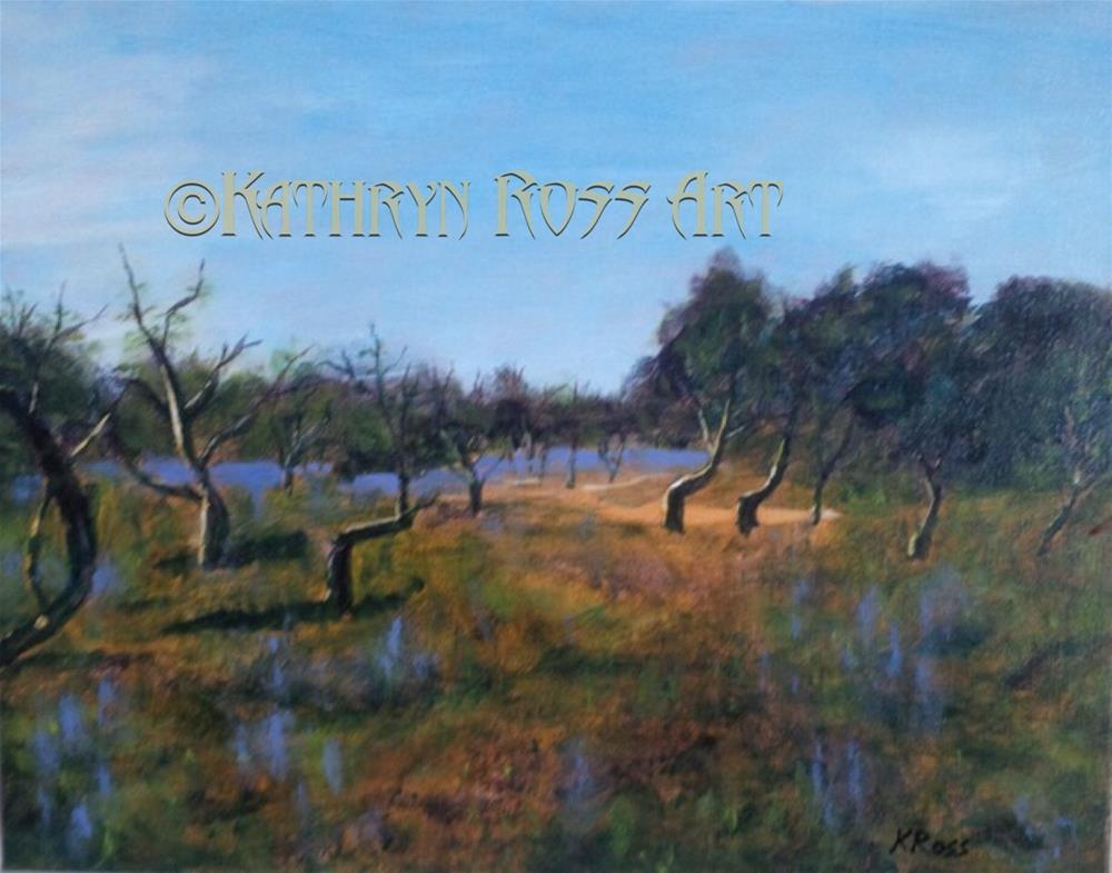 """Portugal fields"" original fine art by Kathryn Ross"