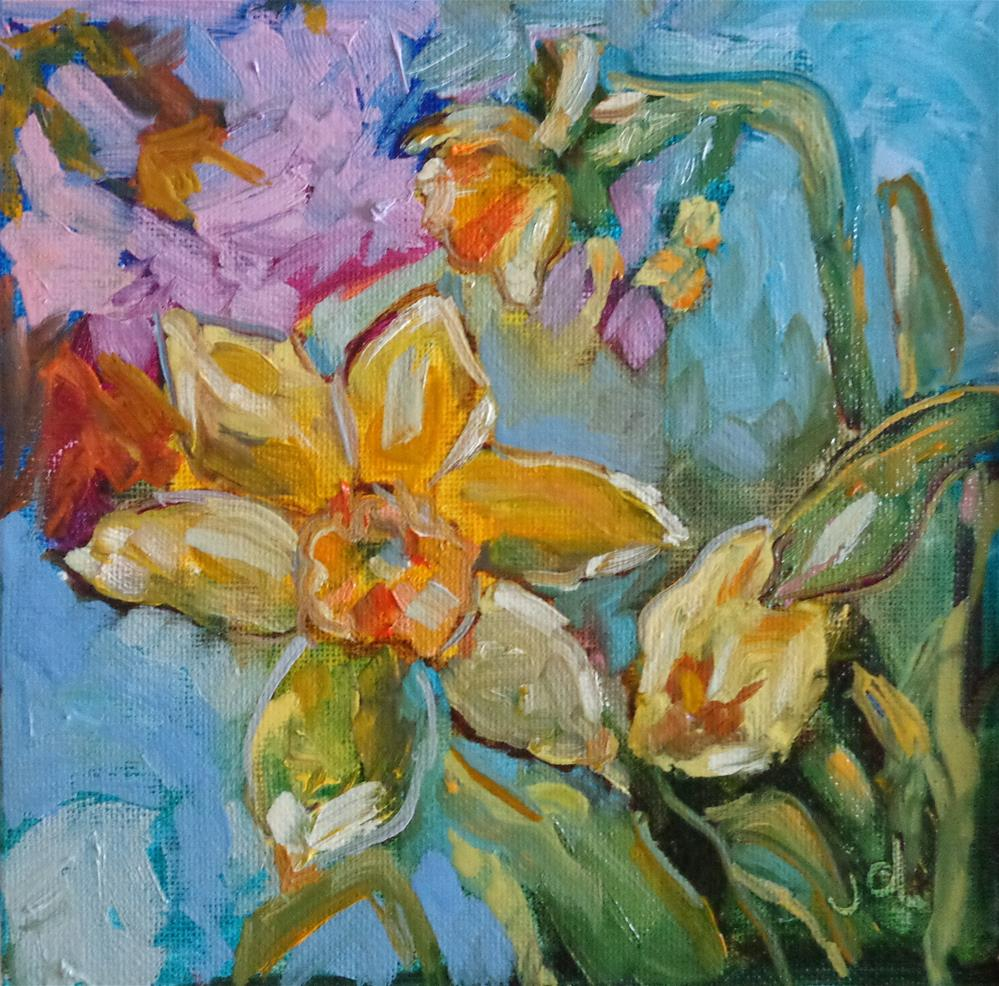 """Spring time"" original fine art by Jean Delaney"