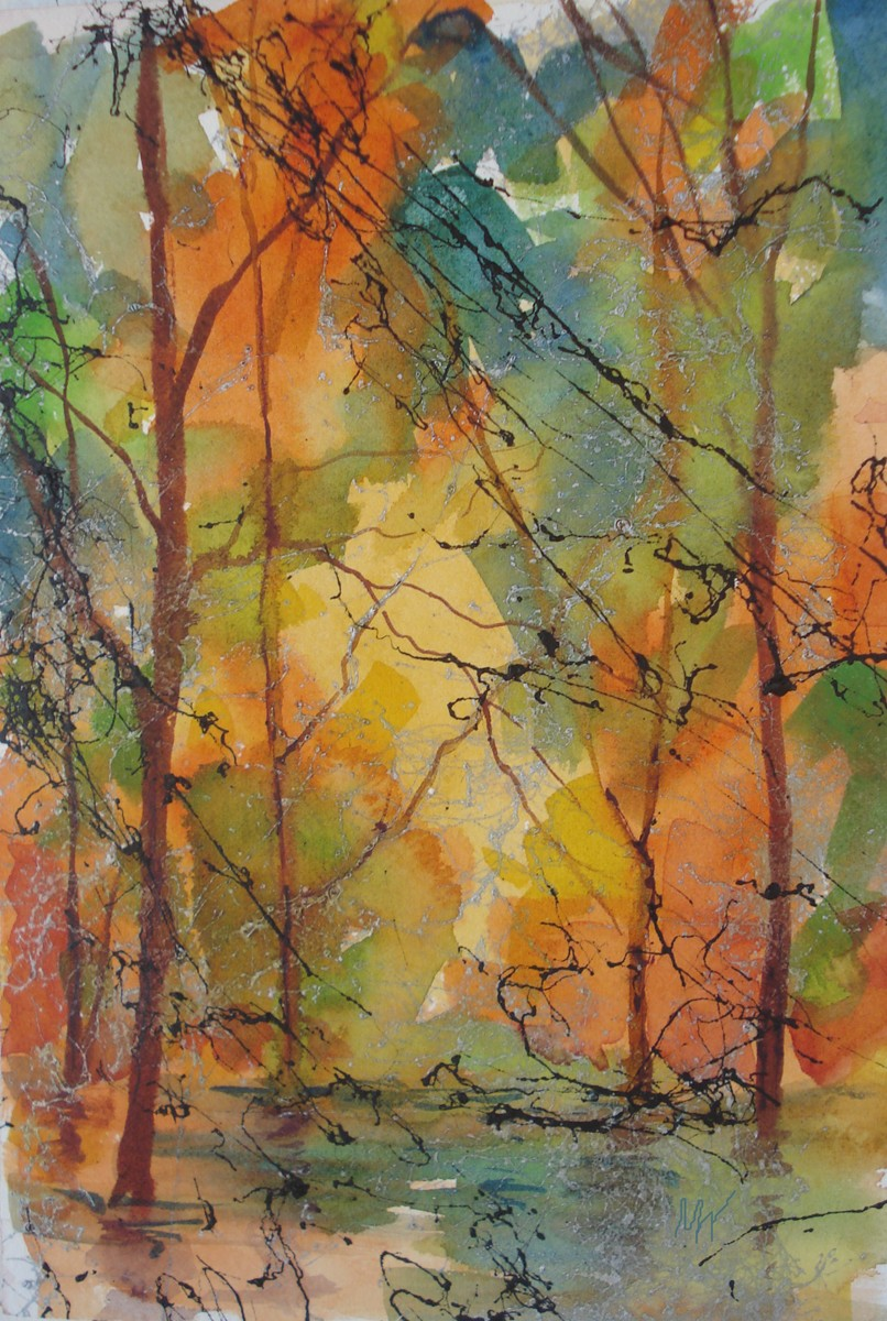 Autumn original fine art by Margie Whittington