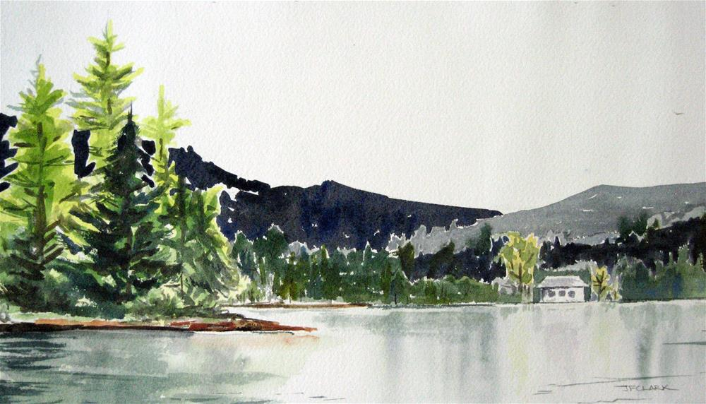 """Kimball Pond"" original fine art by Judith Freeman Clark"