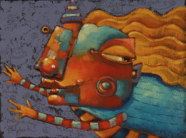 """Five-Oh!"" original fine art by Brenda York"