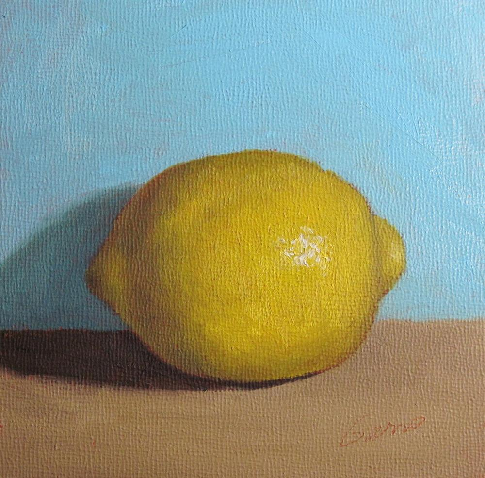 """Lemon"" original fine art by Michelle Garro"