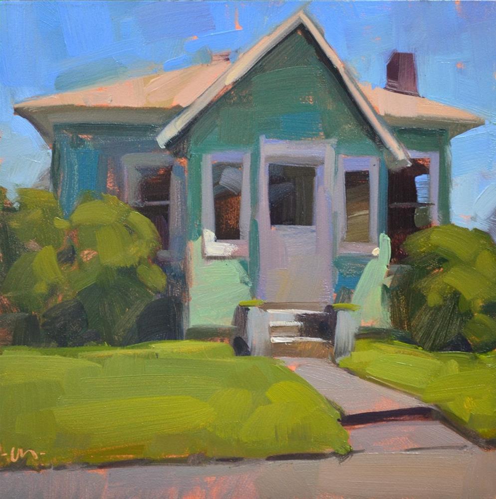 """Little House"" original fine art by Carol Marine"