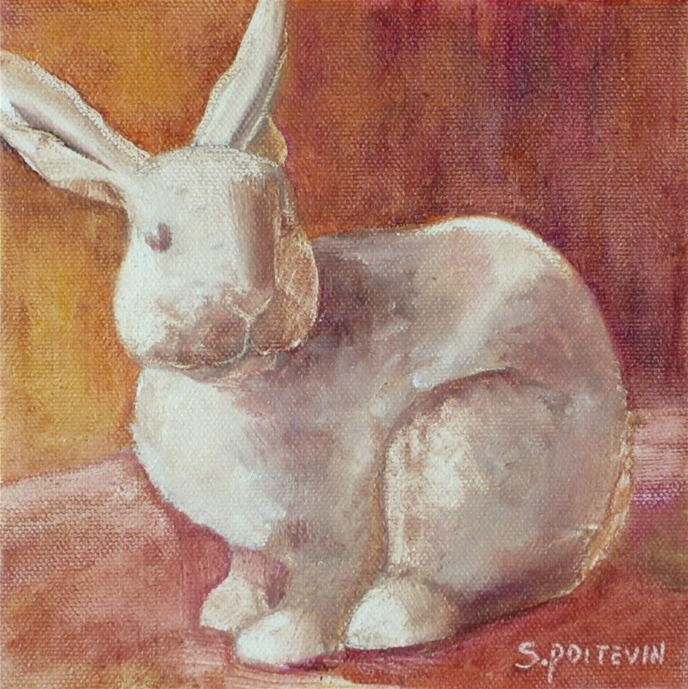 """""""William"""" original fine art by Susan Poitevin"""