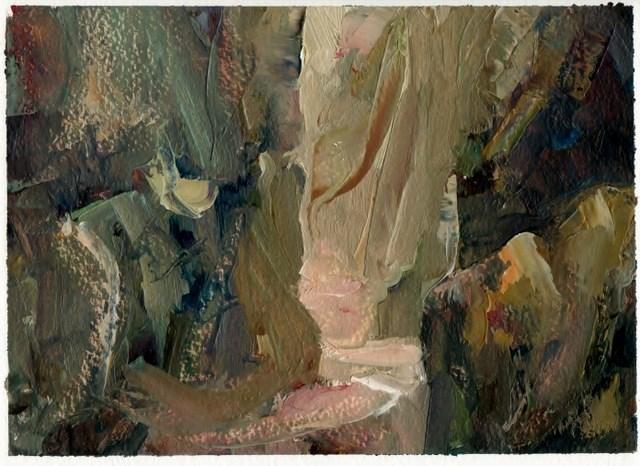 """""""Lud's Door"""" original fine art by Anne Wood"""
