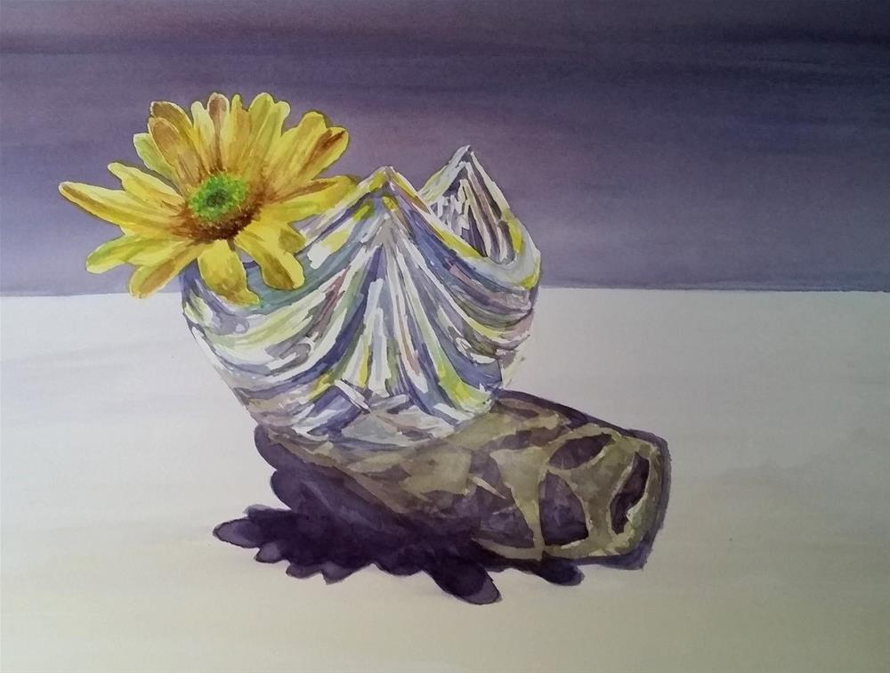 """Daisy"" original fine art by Kim Vanlandingham"