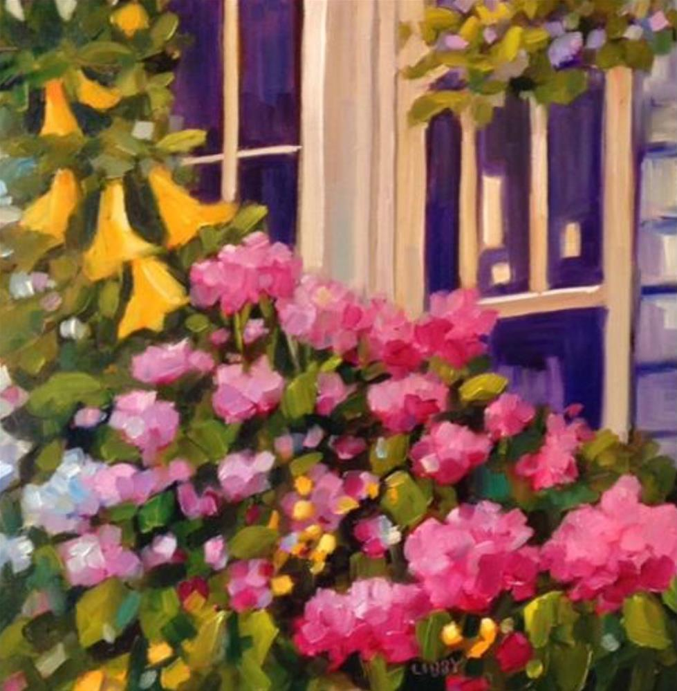 """Longwood Windows"" original fine art by Libby Anderson"