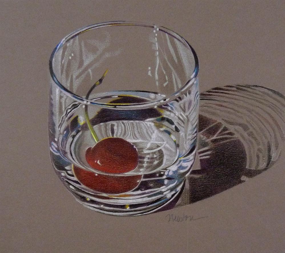 """Glass Reflections"" original fine art by Barbara Benedetti Newton"