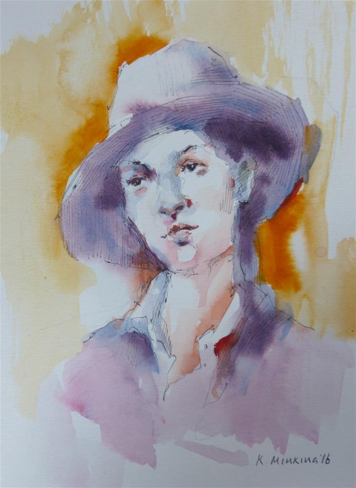 """sketchbook#36"" original fine art by Katya Minkina"