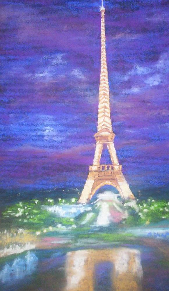 """Madeleine's France"" original fine art by Becky Chappell"