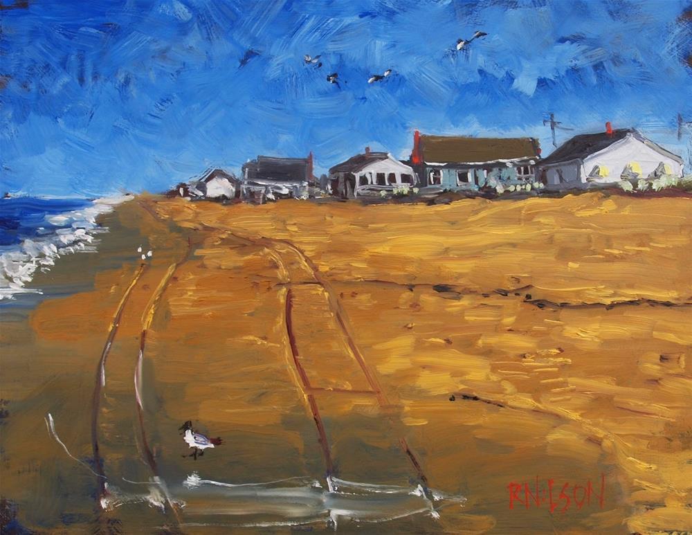 """The Waters Edge"" original fine art by Rick Nilson"