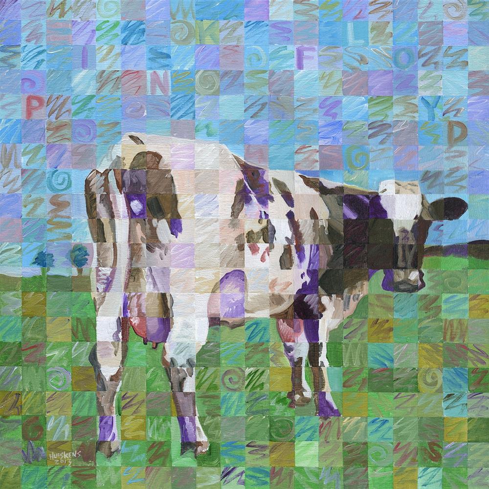 """Atom Heart Mother"" original fine art by Randal Huiskens"