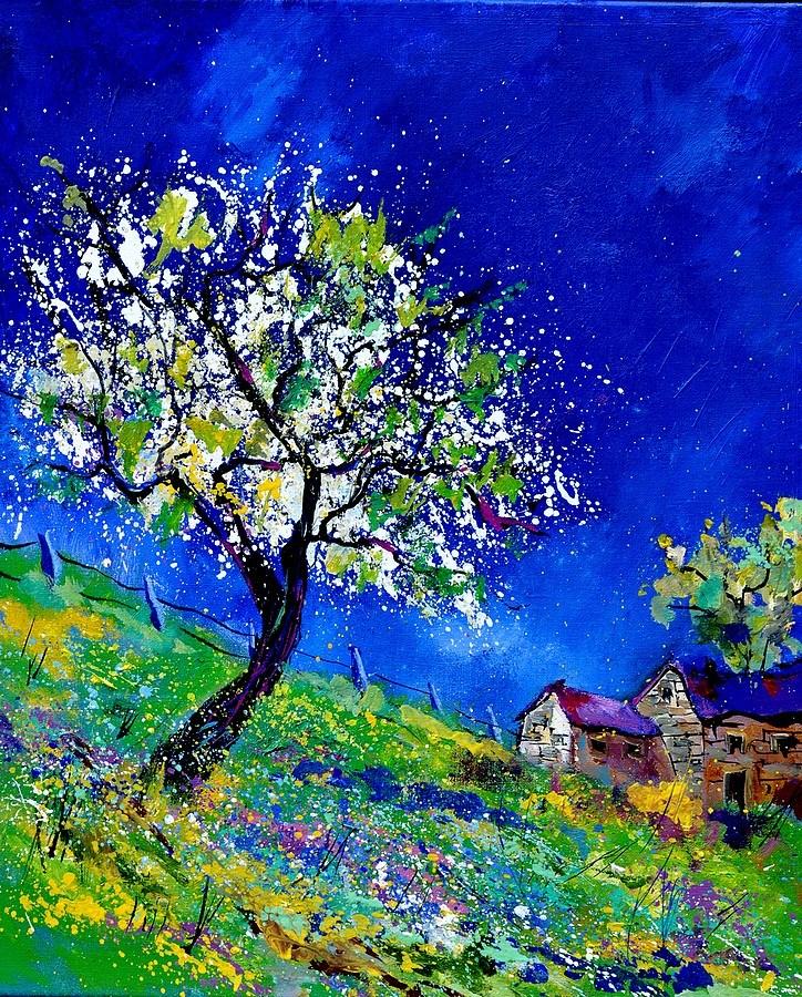 """""""summer landscape"""" original fine art by Pol Ledent"""