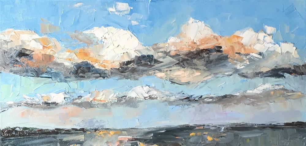 """""""Tampa Clouds"""" original fine art by Denise Hopkins"""