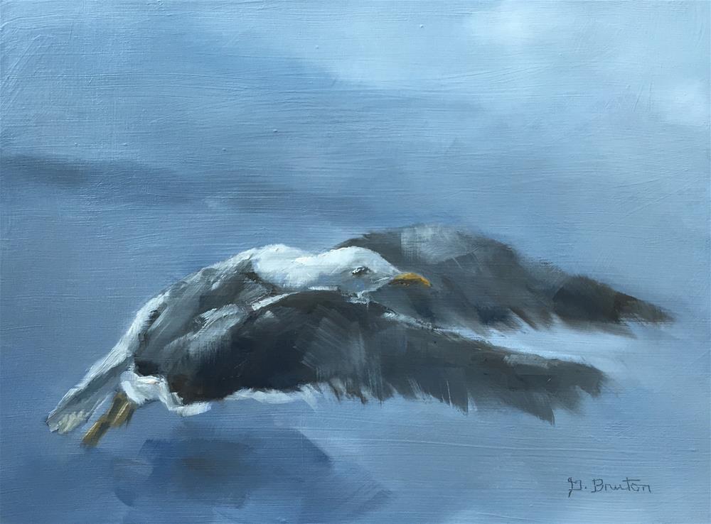 """Takeoff"" original fine art by Gary Bruton"