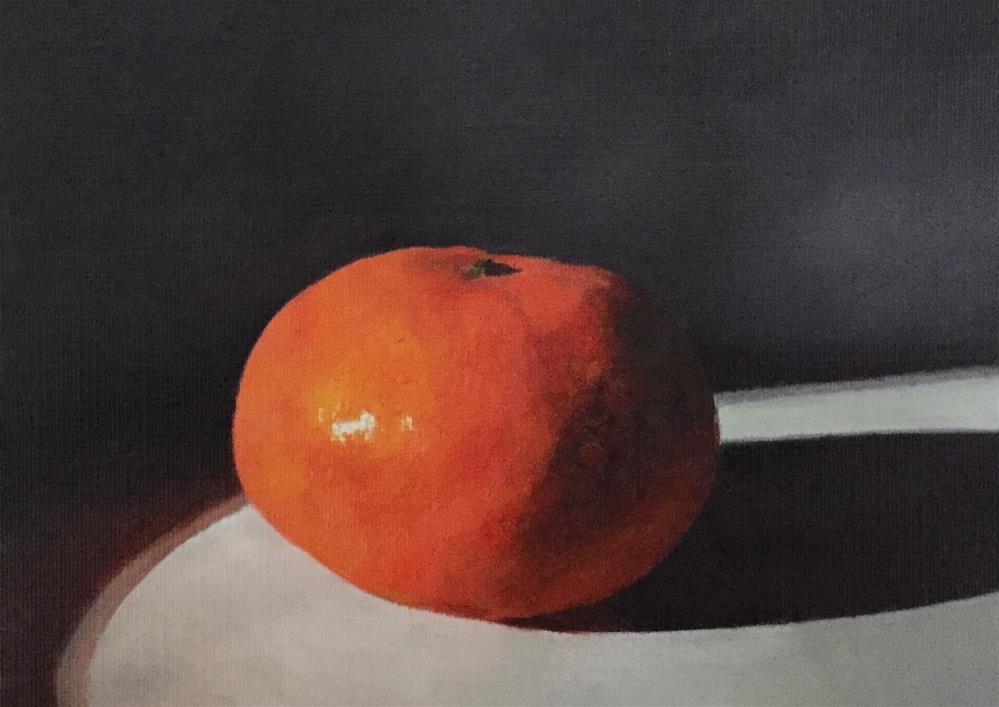 """""""Satsuma"""" original fine art by John Cameron"""