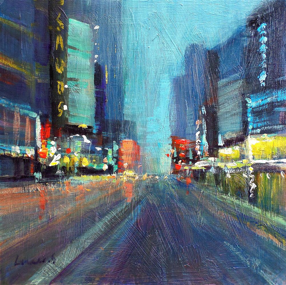 """new york city"" original fine art by salvatore greco"