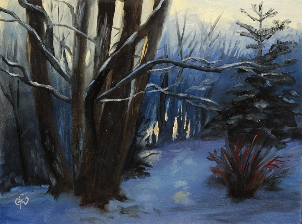 """First Snow"" original fine art by Gary Westlake"