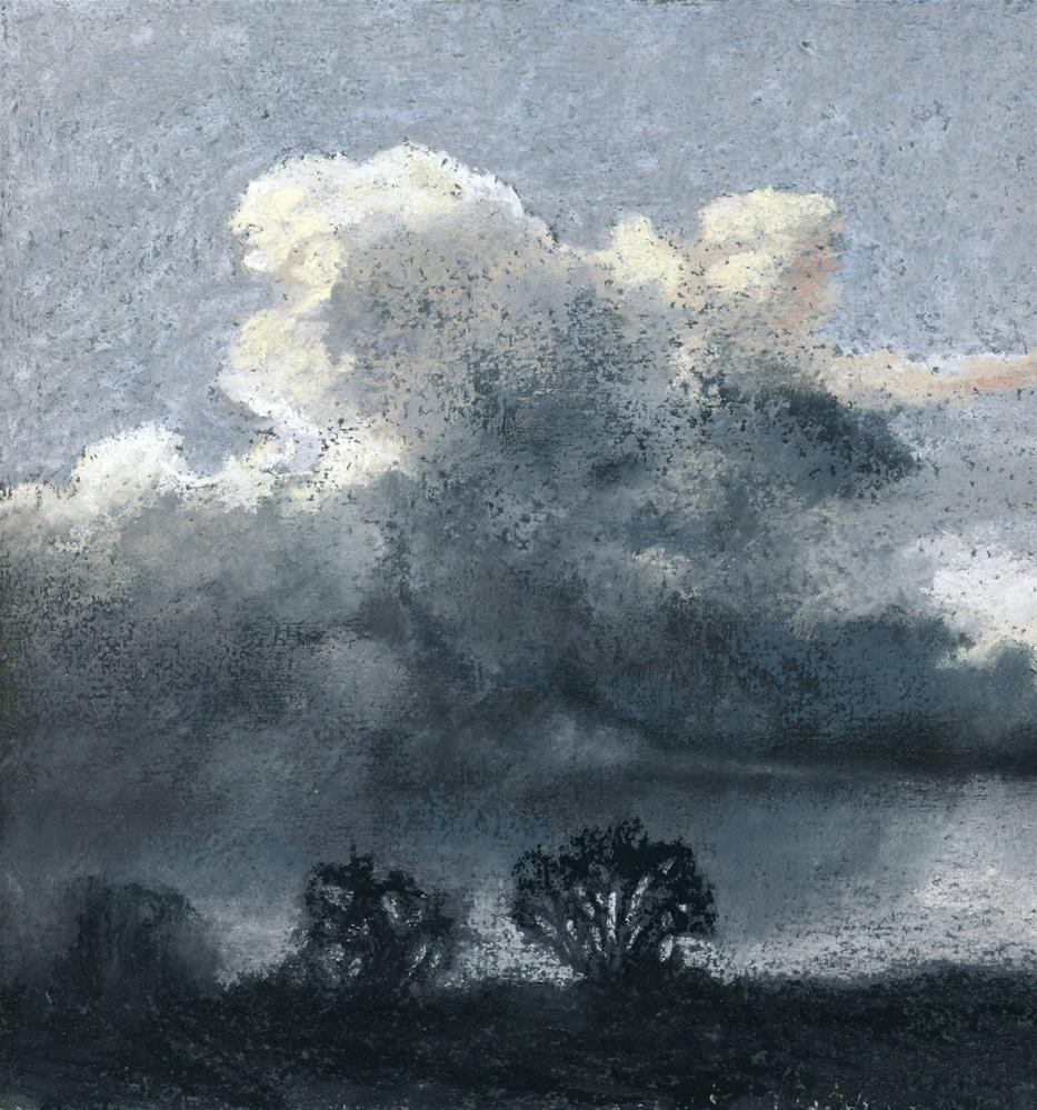 """Cloudburst"" original fine art by Christine Derrick"