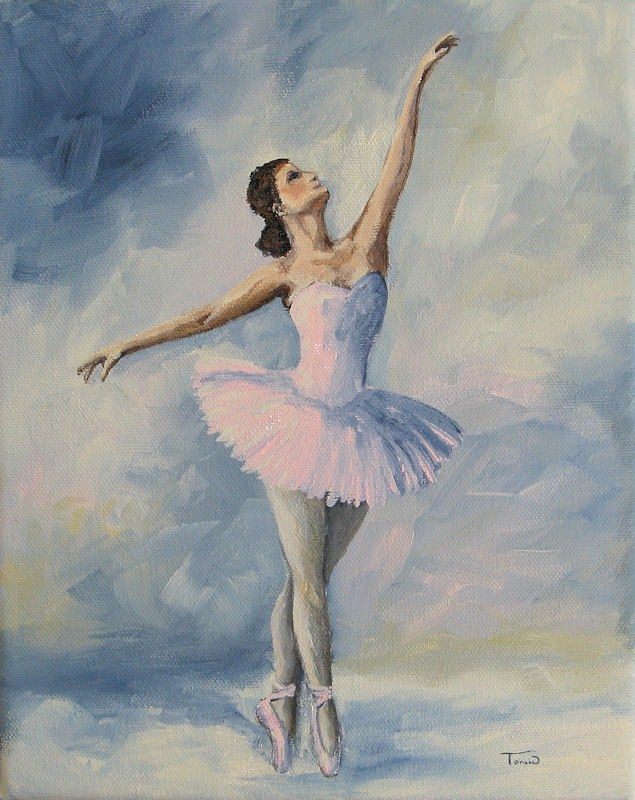 """Ballerina 001"" original fine art by Torrie Smiley"
