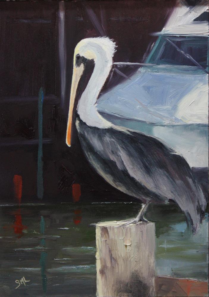 """""""Perched"""" original fine art by Sheila Marie"""
