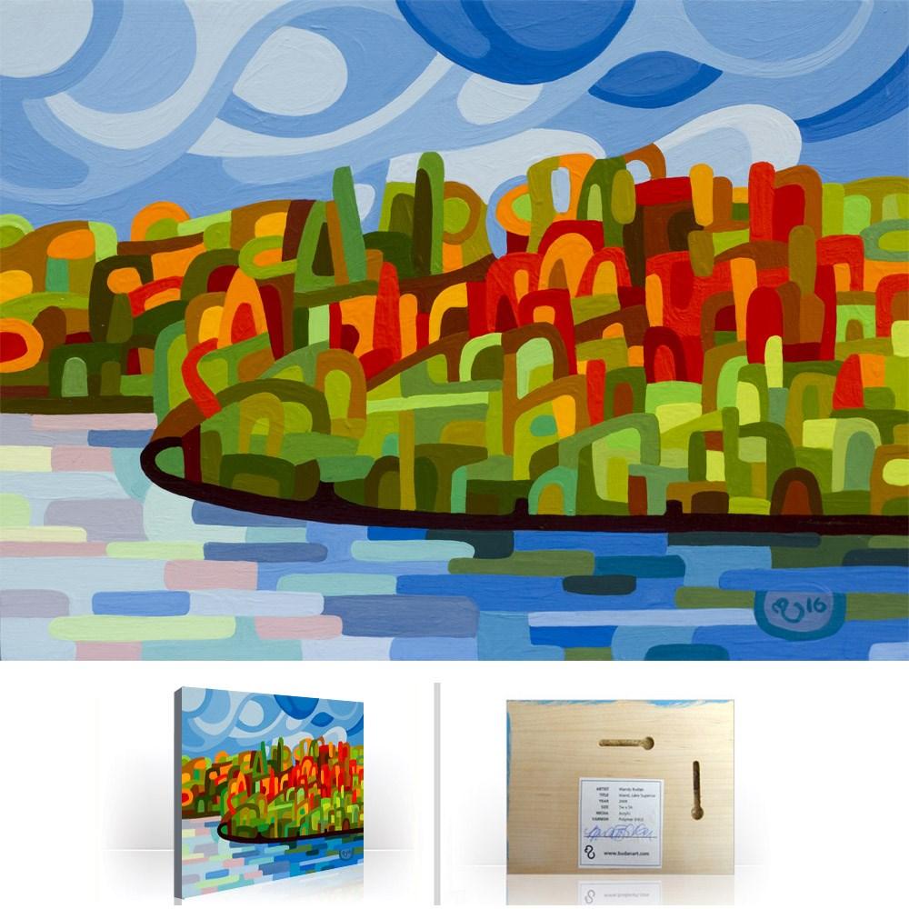 """Landscape Study #92"" original fine art by Mandy Budan"