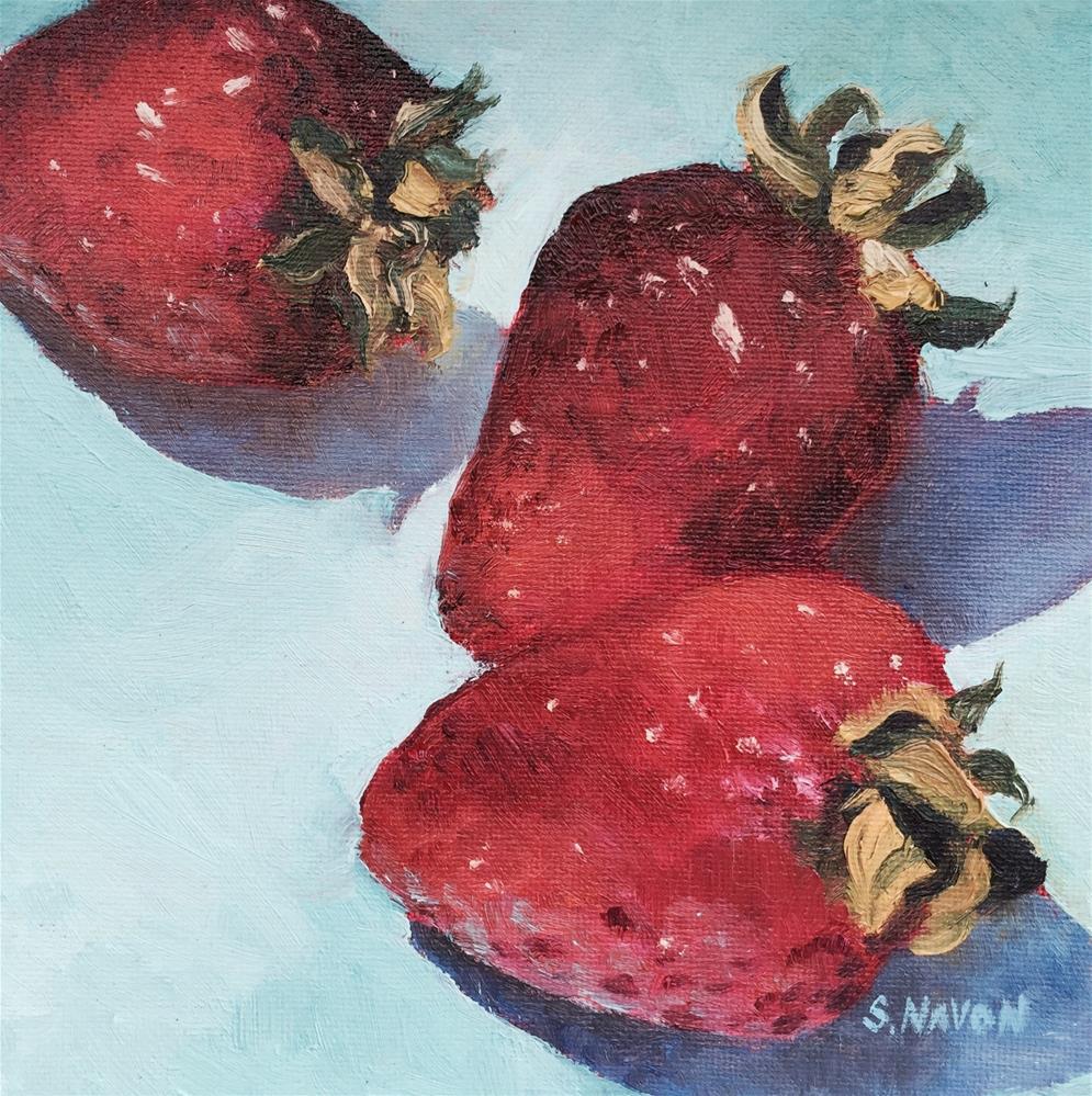 """Fresh Picked"" original fine art by Stephanie Navon Jacobson"