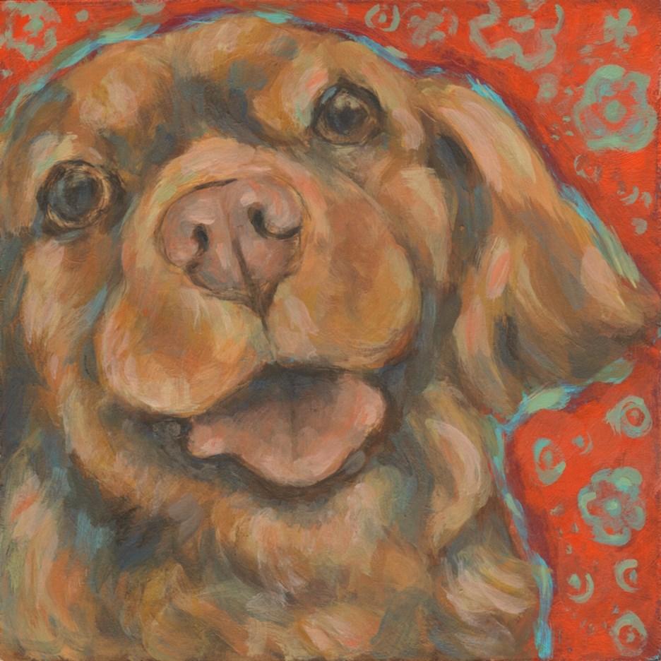 """Sweetie"" original fine art by Kathy Hiserman"