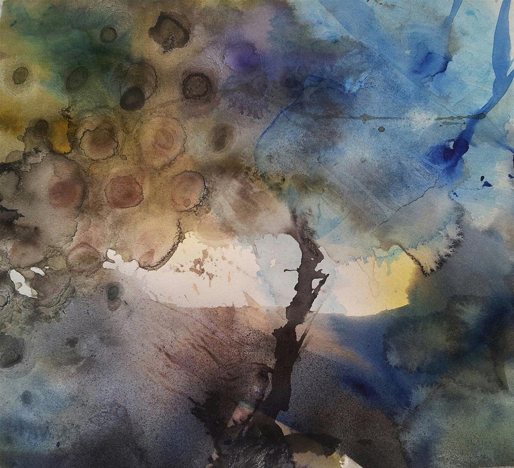 """Mystery Tree"" original fine art by Becky Chappell"