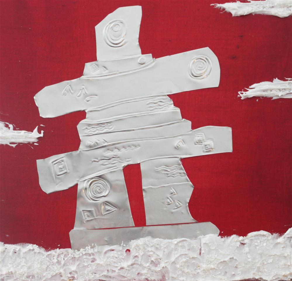 """Polar Sentinel12"" original fine art by Christiane Kingsley"