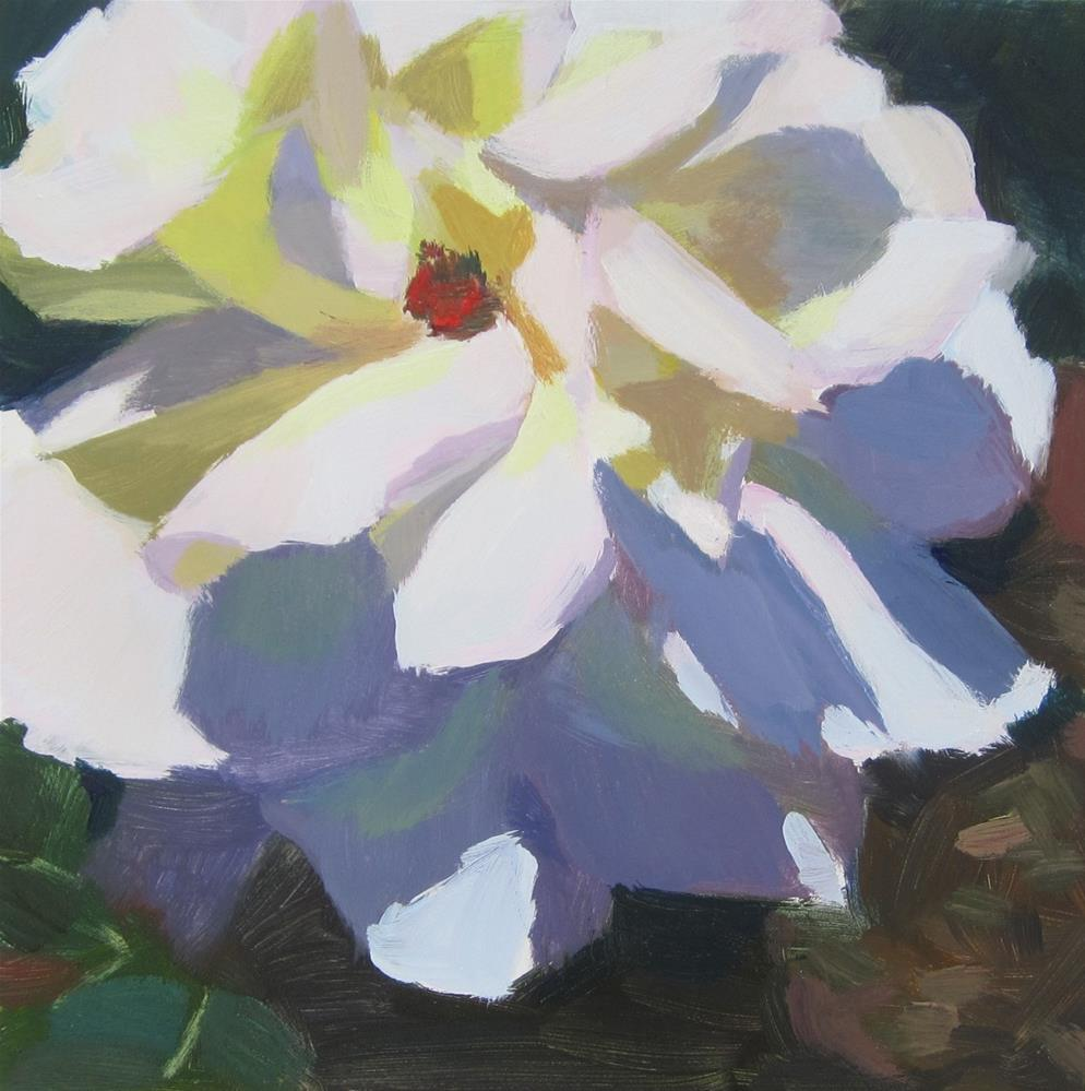 """Pastel Rose"" original fine art by Kaethe Bealer"