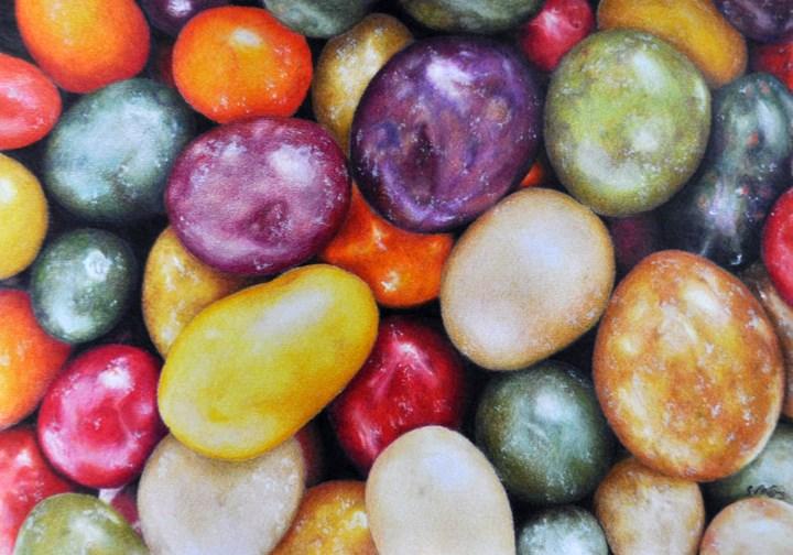 """""""Jelly Beans"""" original fine art by Stefan Peters"""